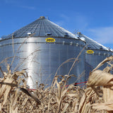 Grain Storage  Sioux Steel Farm Bins for Fall Harvest