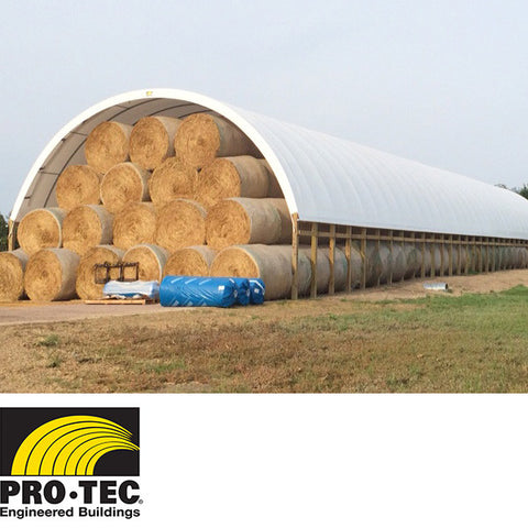 Single Tube Building for Hay Storage