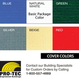 Cover Color Choices for On Farm Building