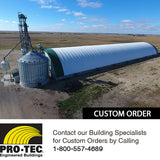 Large Grain Storage Building for Elevators
