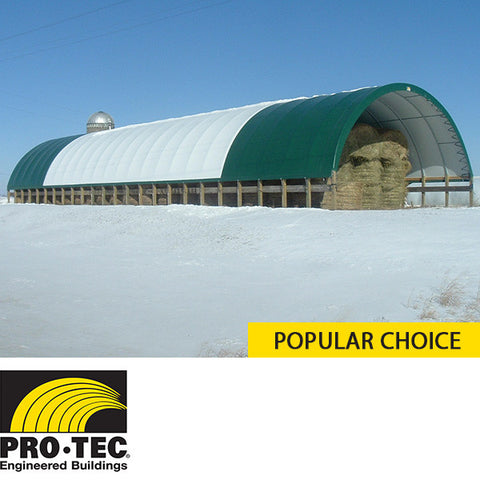 Custom ProTec Building for Hay Storage