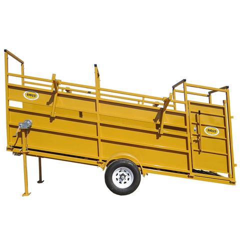 Panel and Portable Loading Chute Sioux Steel