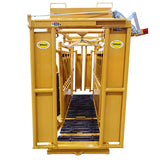 Sioux-Steel-Squeeze-Chute-with-Yellow-Manual-Head-Gate