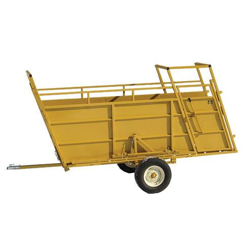 Portable Loading Chute for Working Cattle