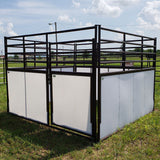 Stockman Horse Stall with Plastic Panels