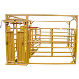 Sioux Steel Calving Pen with Auto Head Gate