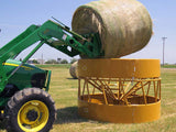 Sioux Steel Closed Bottom Hay Max Feeder with Hay