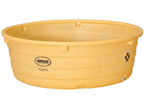 Round Poly Sioux Steel Large Capacity Waterer