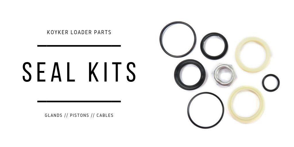 Replacement Cylinder Seal Kits for Koyker Loaders