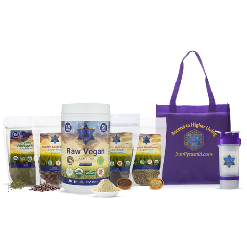Sun Pyramid's All-in-One Superfood Starter Kit