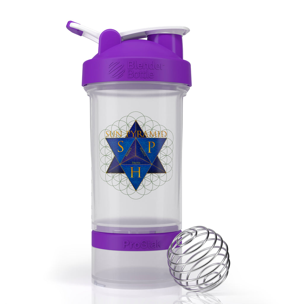 Sun Pyramid Health Shaker Bottle ProStak System