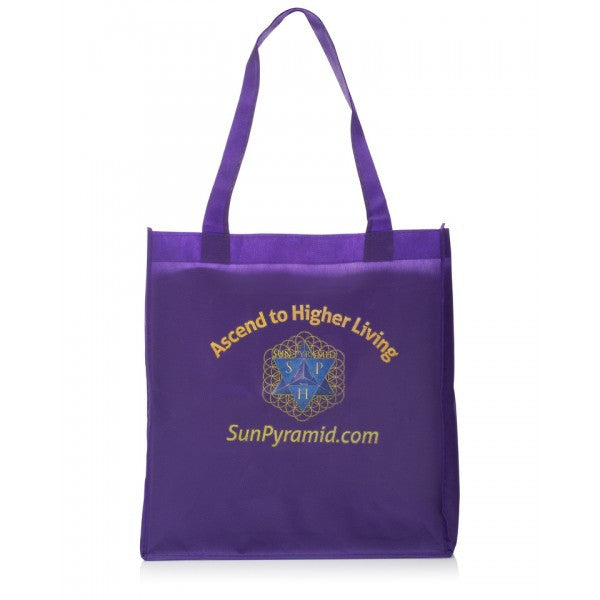 Sun Pyramid Shopping Bag