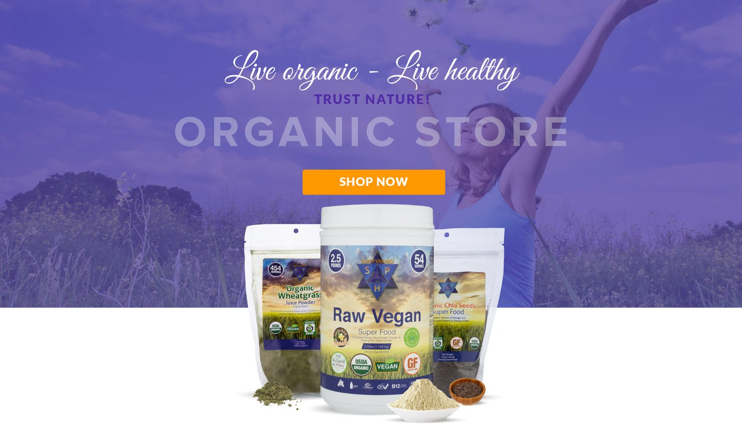 Live Organic - Live Healthy