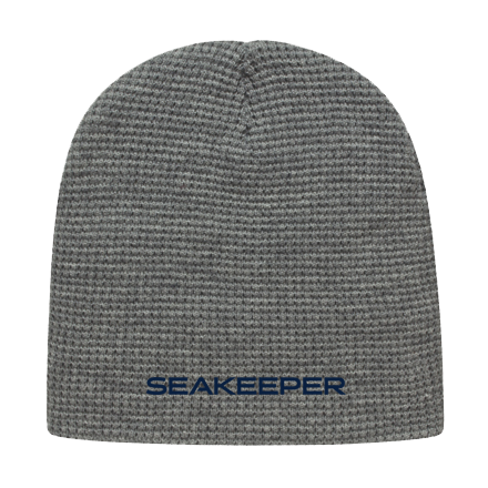 Seakeeper Waffle Knit Beanie - Back View