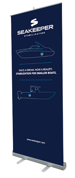 POP-UP BANNER - DEEP SEA BLUE