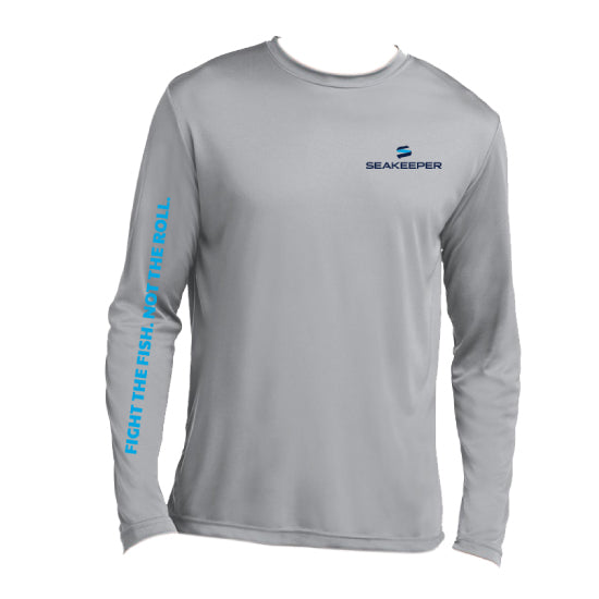 SEAKEEPER FIGHT THE FISH LONG SLEEVE T-SHIRT - FRONT VIEW
