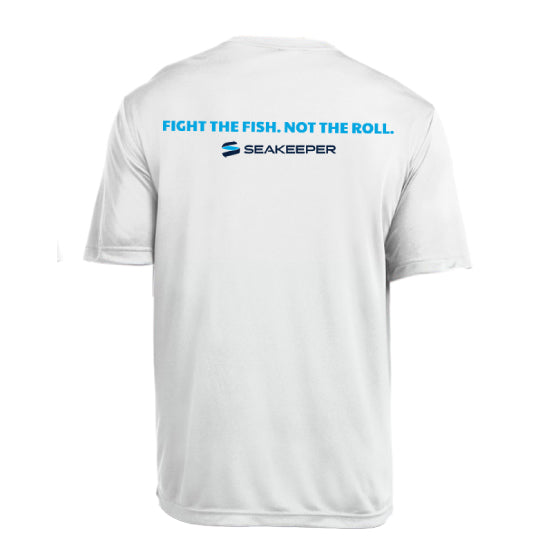 SEAKEEPER FIGHT THE FISH T-SHIRT - BACK VIEW