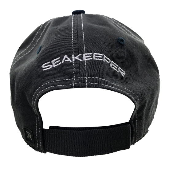 SEAKEEPER FIGHT THE FISH HAT - BACK VIEW