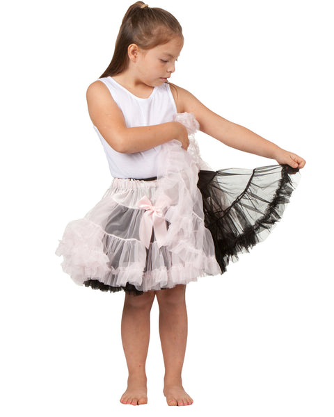 Laura Dare Longer Reversible Petti Skirt (2T - 10)