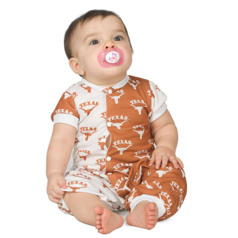 University Of Texas UT Longhorns Baby Jumpsuit (NB - 24m)