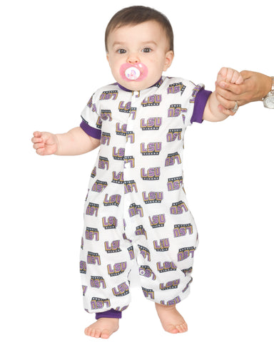Louisiana State LSU Tigers Baby Boys Jumpsuit (NB - 24m)
