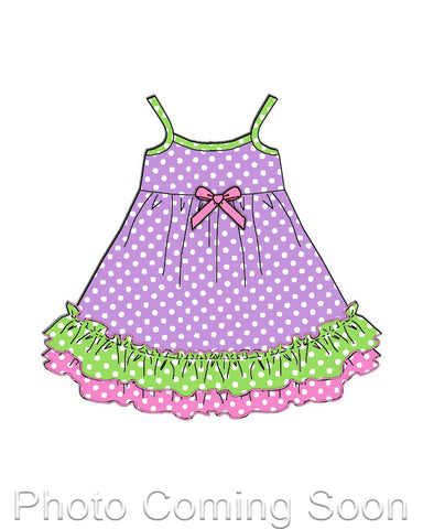 Laura Dare Dot Egg Stravaganza Matching Doll Gown