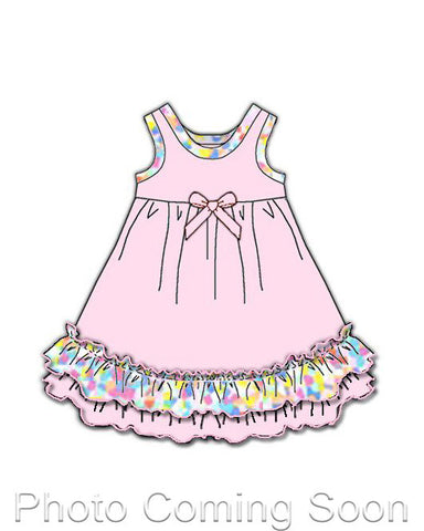 Laura Dare Cotton Candy Matching Doll Gown