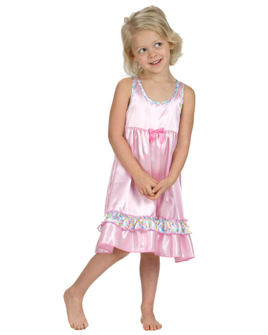 Laura Dare Cotton Candy Racerback Nightgown (12m-6x)