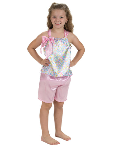 Laura Dare Cotton Candy Short Pajamas (4-14)