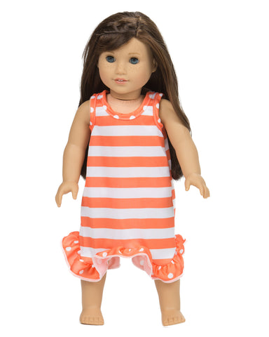 Laura Dare Tangerine Dreams Matching Doll Gown