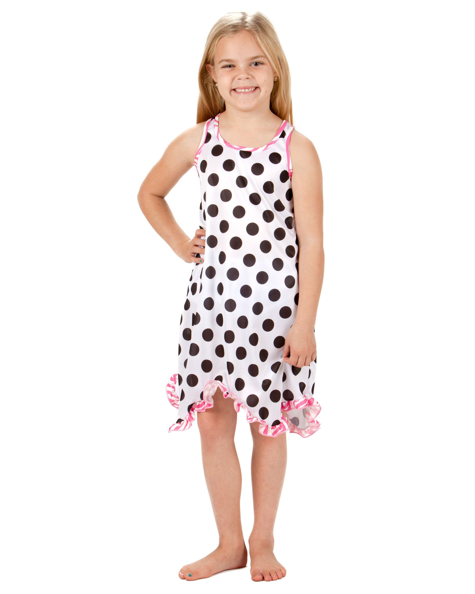 Laura Dare Connect The Dots Racerback Nightgown (4 - 14)