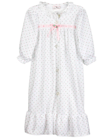 Girls Rosebud Jersey Traditional Sleep Robe (2T-14)