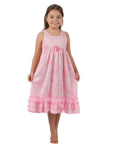 Laura Dare Blossoms Racerback Nightgown (2T - 14)