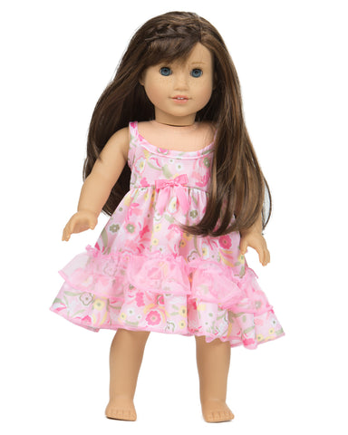 Laura Dare Wildflowers Matching Doll Gown