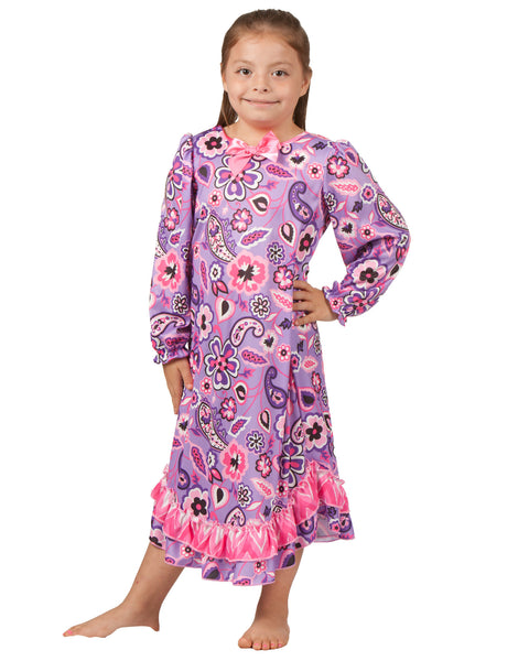 Laura Dare Pop Star Long Sleeve Gown (6m - 6x)