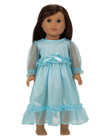 Laura Dare Enchanted Ice Princess Doll Gown