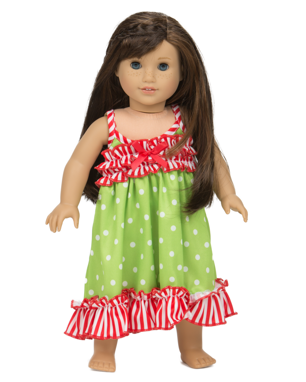 Jolly Jammies Strappy Doll Gown