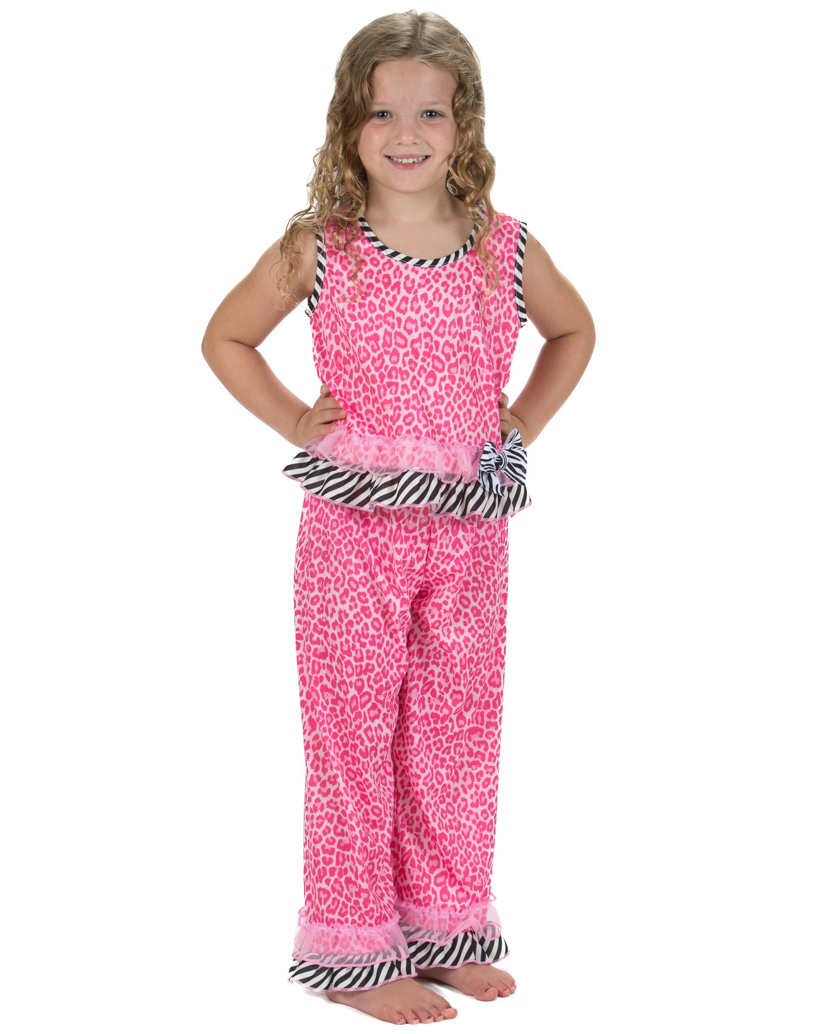 Laura Dare In The Pink Sleeveless Pajamas