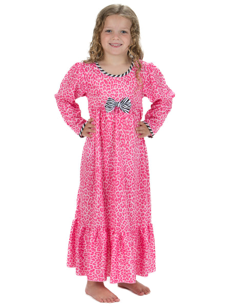 Laura Dare In The Pink Maxi Nightgown