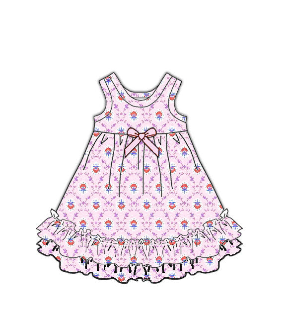 Laura Dare Petite Fleur Doll Nightgown
