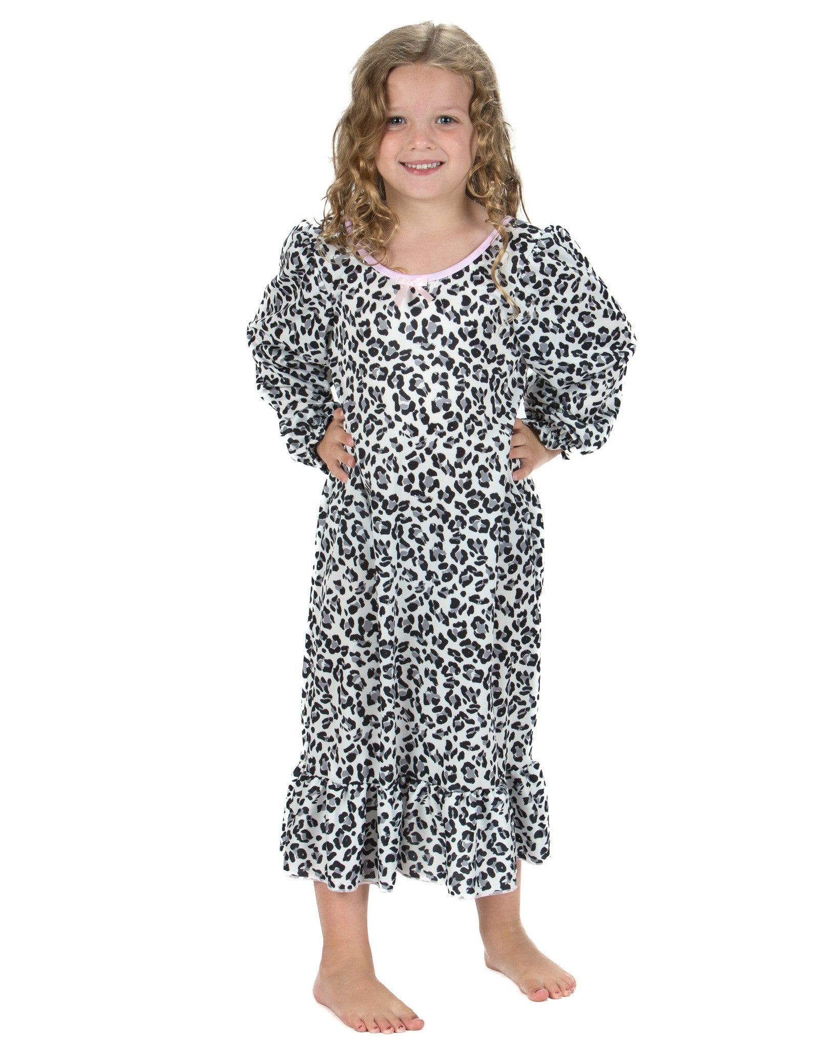 Laura Dare Wild Yet Precious Long Sleeve Nightgown