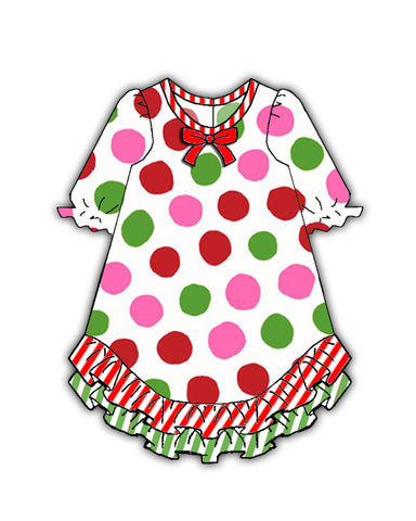 Laura Dare Magical Dots Doll Nightgown