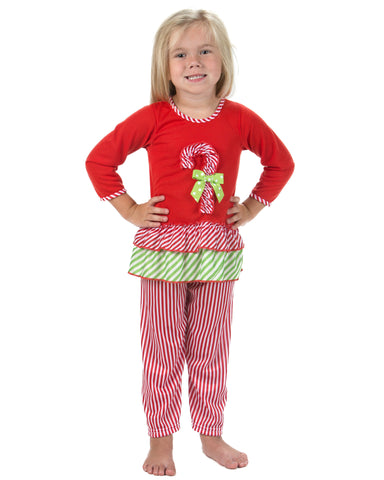 Laura Dare Magical Dots Long Sleeve Pajamas (12M-14)