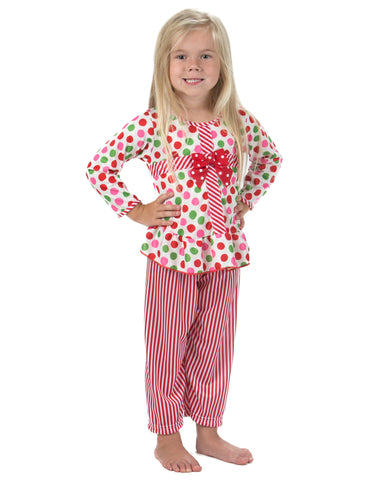 Laura Dare Magical Dots Present Pajamas (12M-6X)