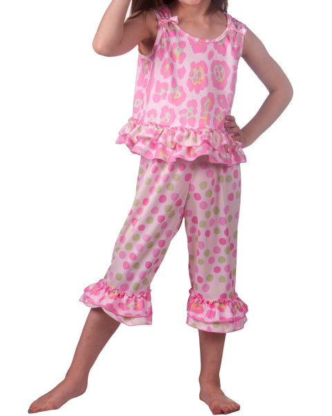 Laura Dare Tropical Beauty Bow Top Pajama