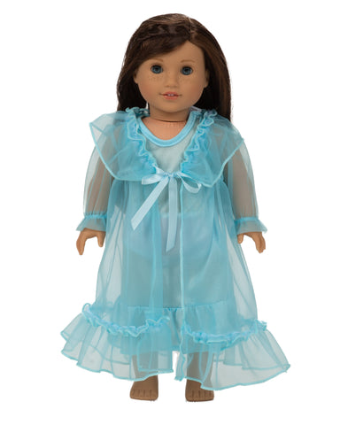Laura Dare Enchanted Ice Princess Doll Peignoir Set