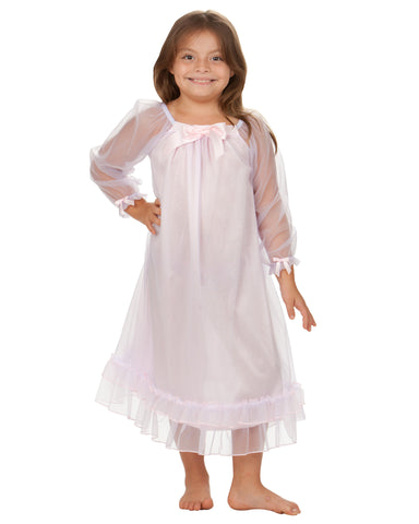 Laura Dare Angel Frills Frilly Night Gown (12m-14)