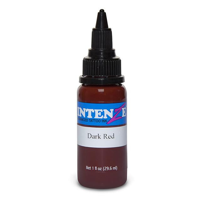 Dark Red Tattoo Ink - Intenze Products Austria GmbH