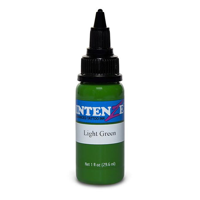 Light Green Tattoo Ink - Intenze Products Austria GmbH