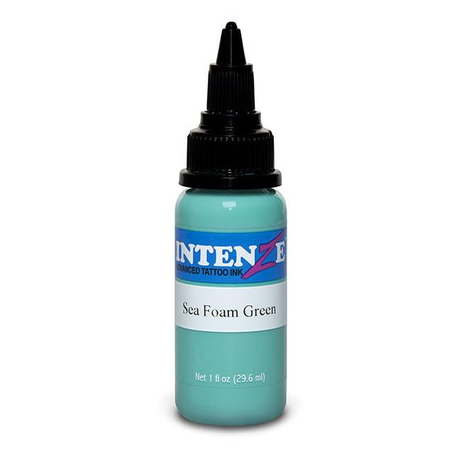 Seafoam Green Tattoo Ink - Intenze Products Austria GmbH